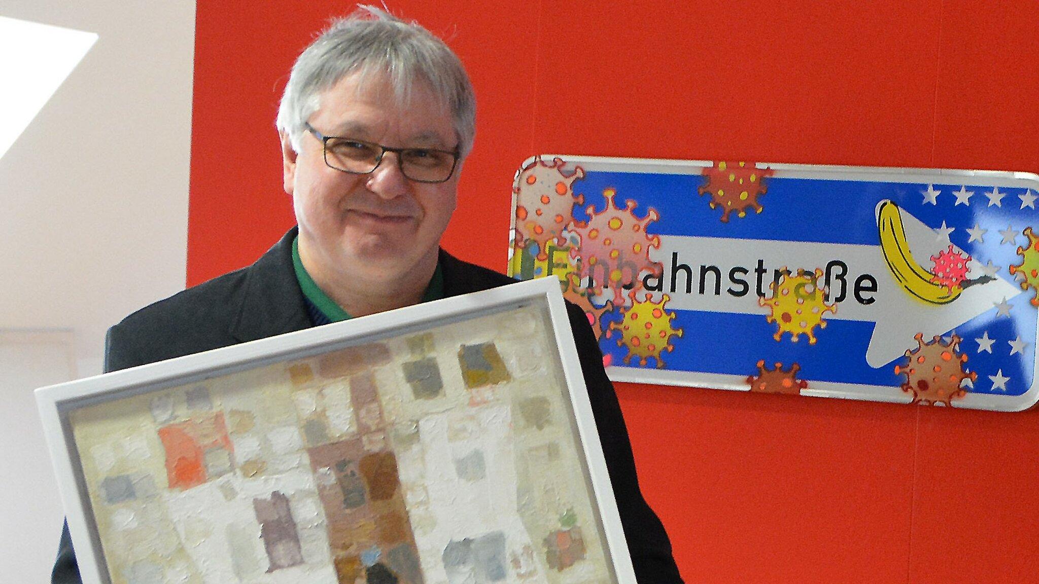 Rudolf Schoof: Kunst kommt ins Haus -
