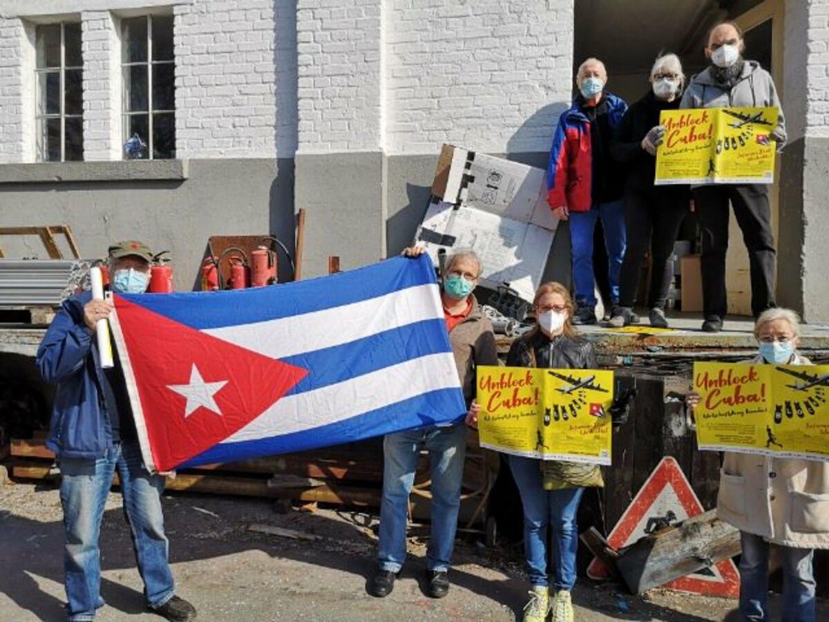 """Cubahilfe: """"US-Wirtschaftskrieg beenden"""""""