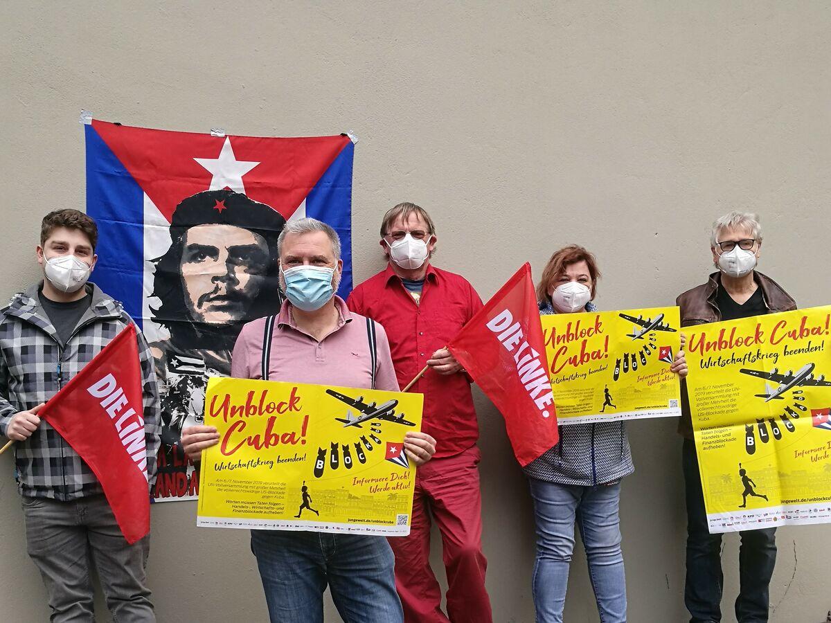 DIE LINKE.Dortmund: US-Wirtschaftskrieg gegen Kuba beenden