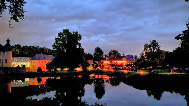 Zauberhafte Atmosphäre beim Lichtfestival