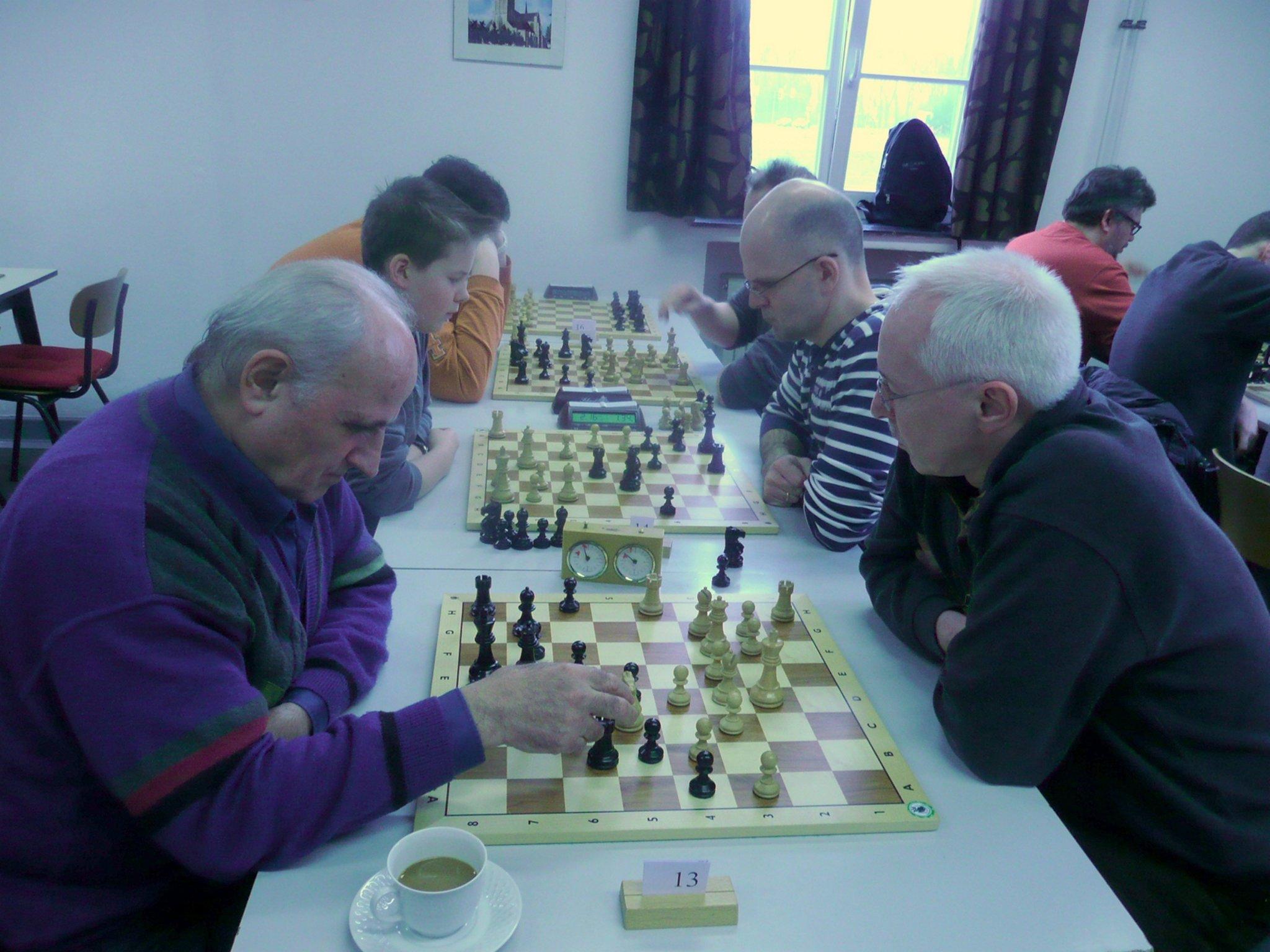 Schach Turnier Kalender