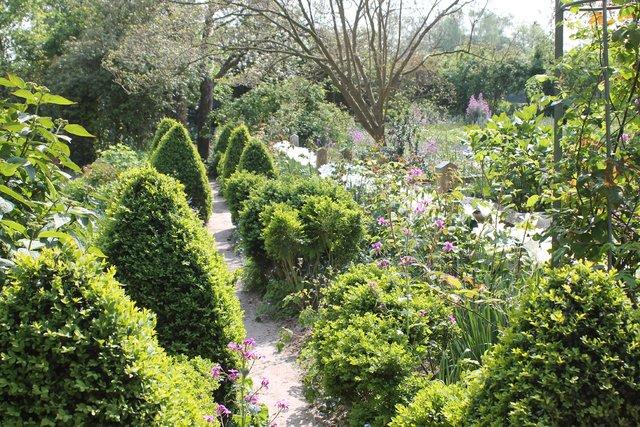 Am Muttertag Die Offenen Garten Im Kleverland Besuchen
