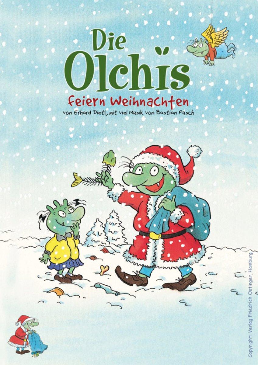 """Kindertheater: """"Die Olchis feiern Weihnachten"""""""
