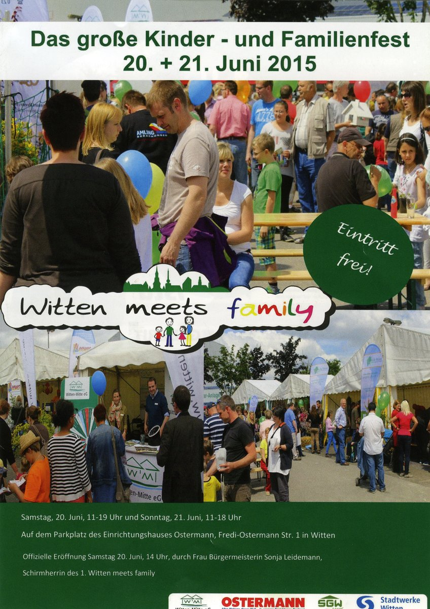 Witten Meets Family Buntes Familienfest Mit Vielen Aktionen