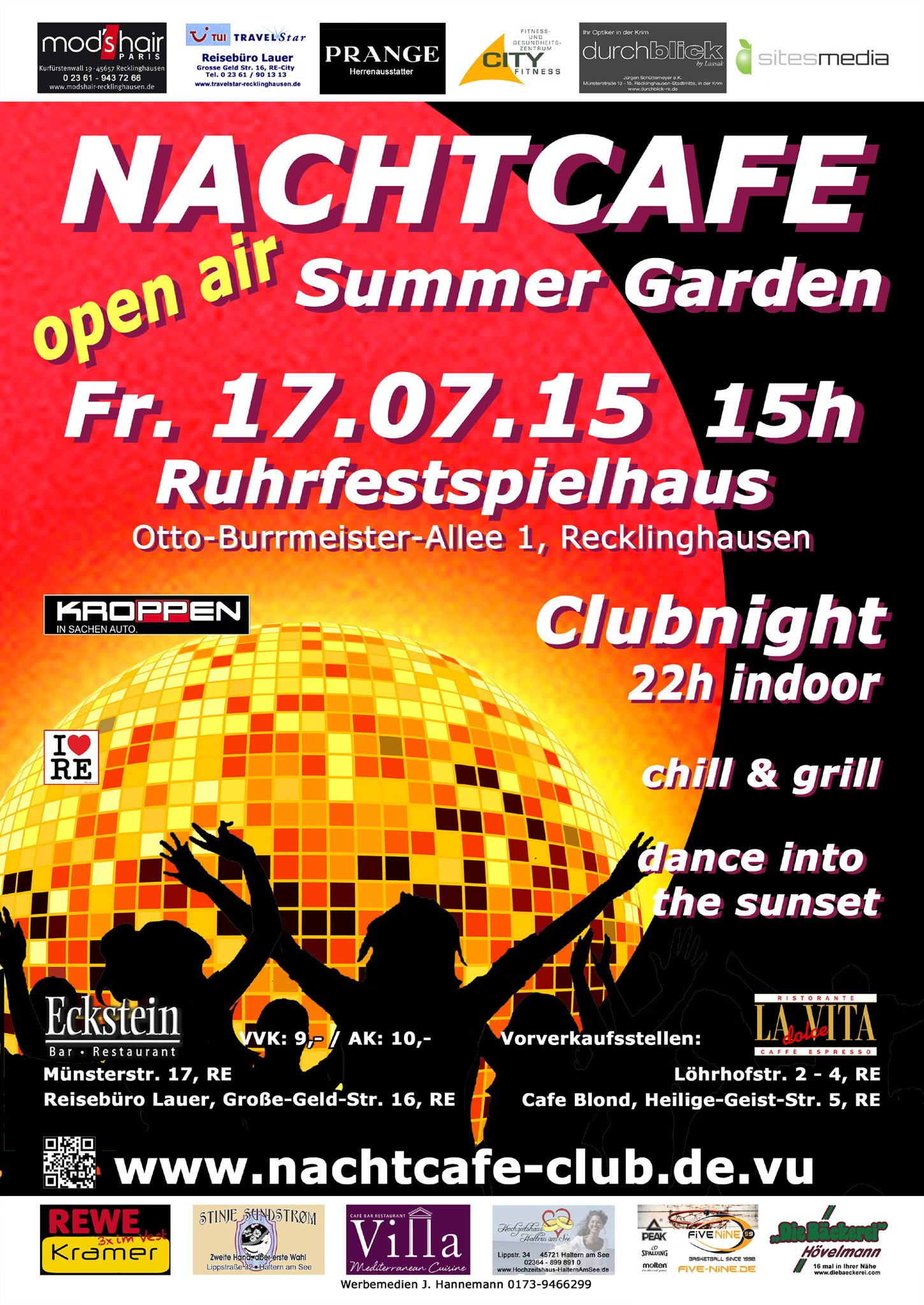 Nachtcafe Recklinghausen