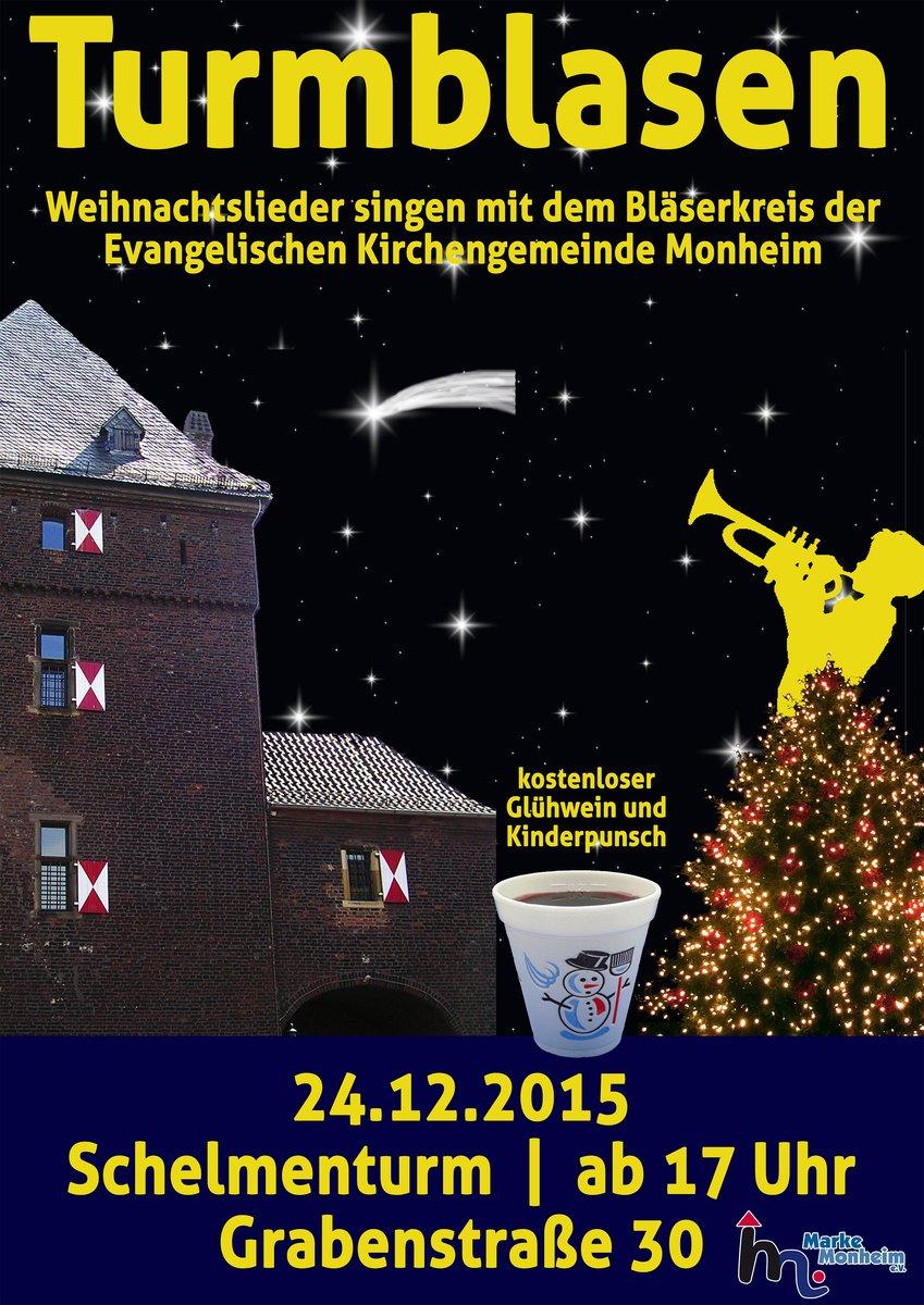 Heiligabend mit Bläserklängen im Schelmenturm: Gute Tradition ...