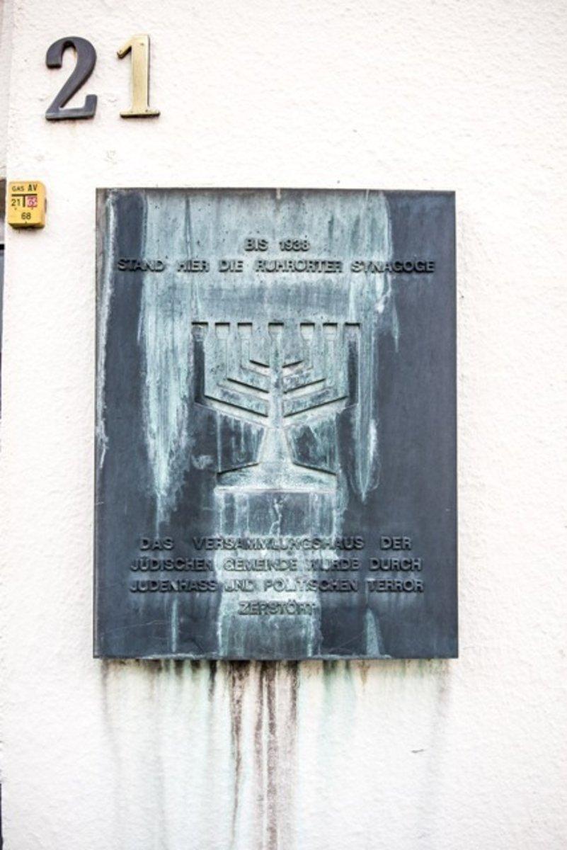 Bildergebnis für ruhrort juden gedenktafel