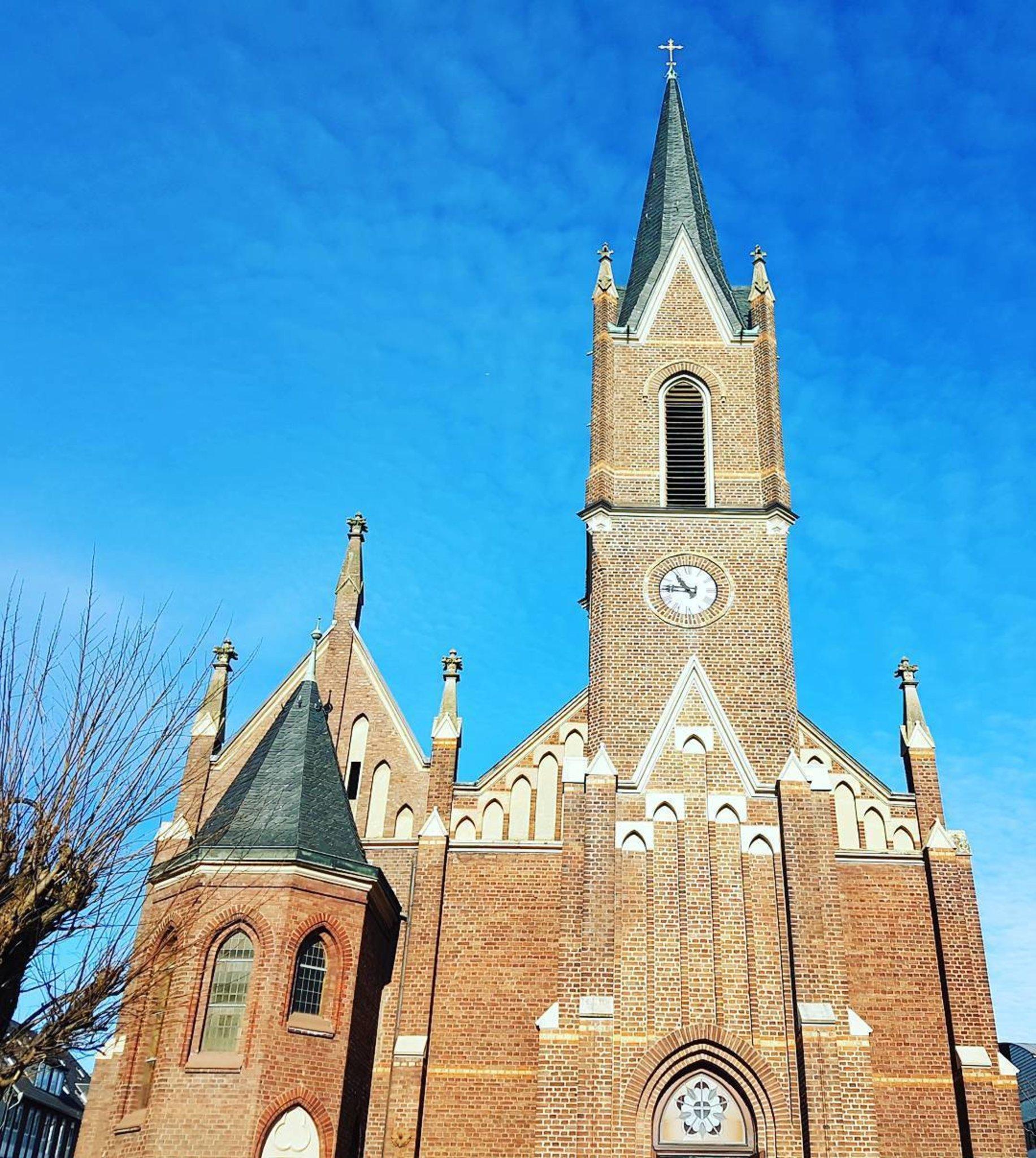 Evangelische Kirche Eintreten