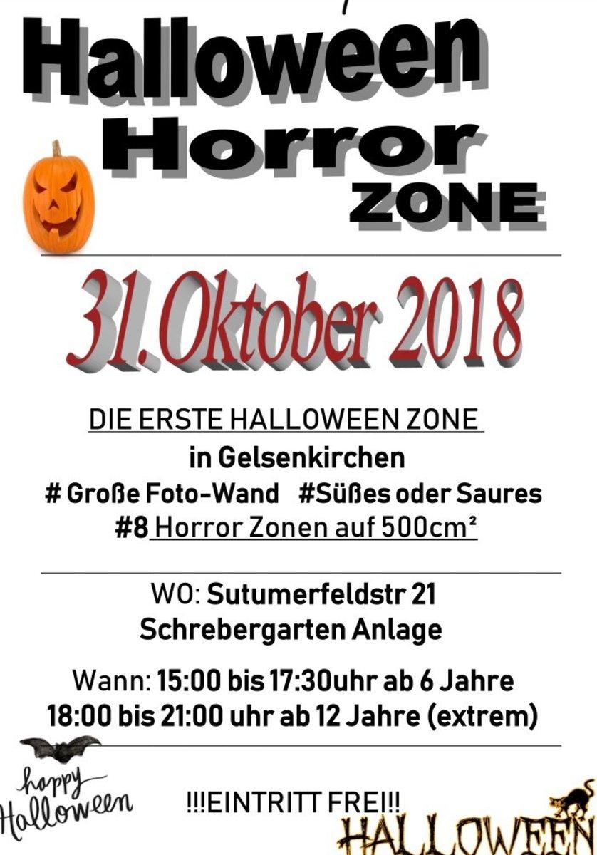Halloween Fotowand.Halloween Horror Zone 2018