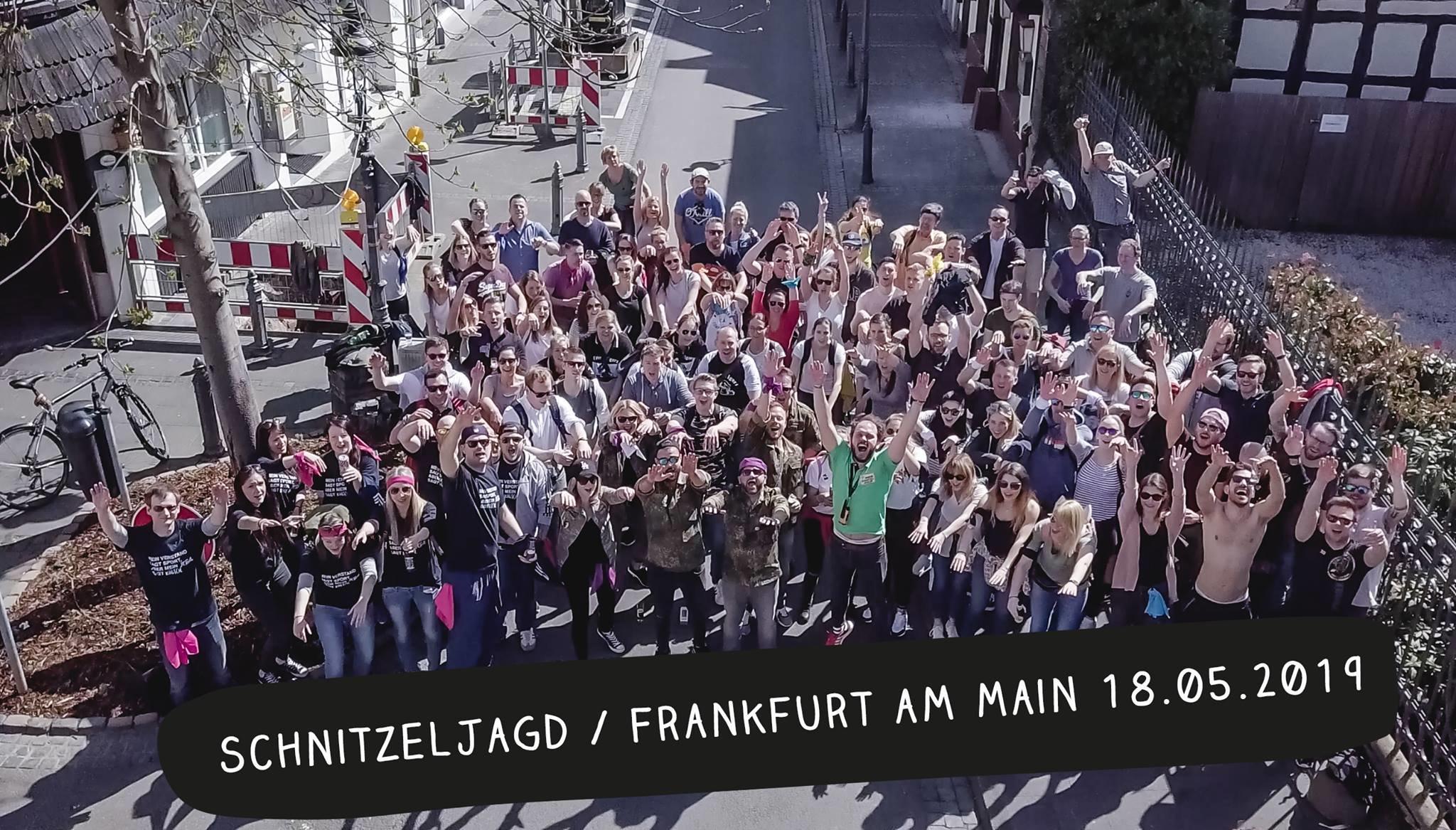 Schnitzeljagd Frankfurt