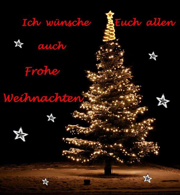 WГјnsche Euch Allen Frohe Weihnachten