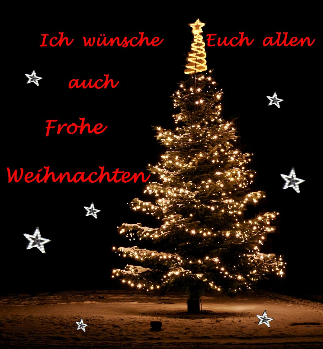 Frohe Weihnachten Euch Allen.Frohe Weihnachten Wünsche Ich Euch Allen
