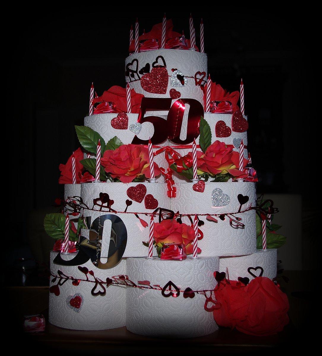 Zum 50 Geburtstag Eine Klasse Torte