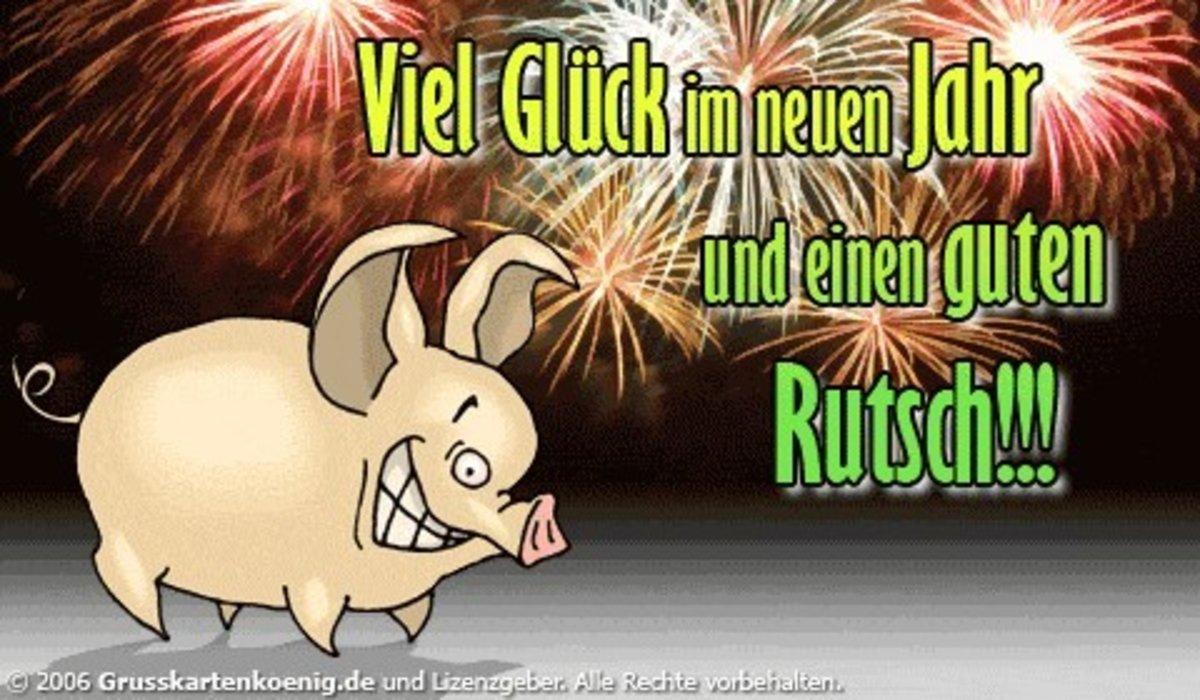 Ich wünsche euch allen einen guten Rutsch und ein frohes neues Jahr ...