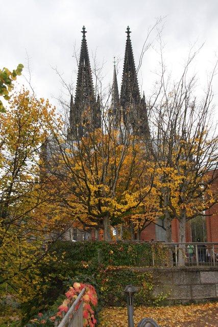 Kolner Dom Im Herbst