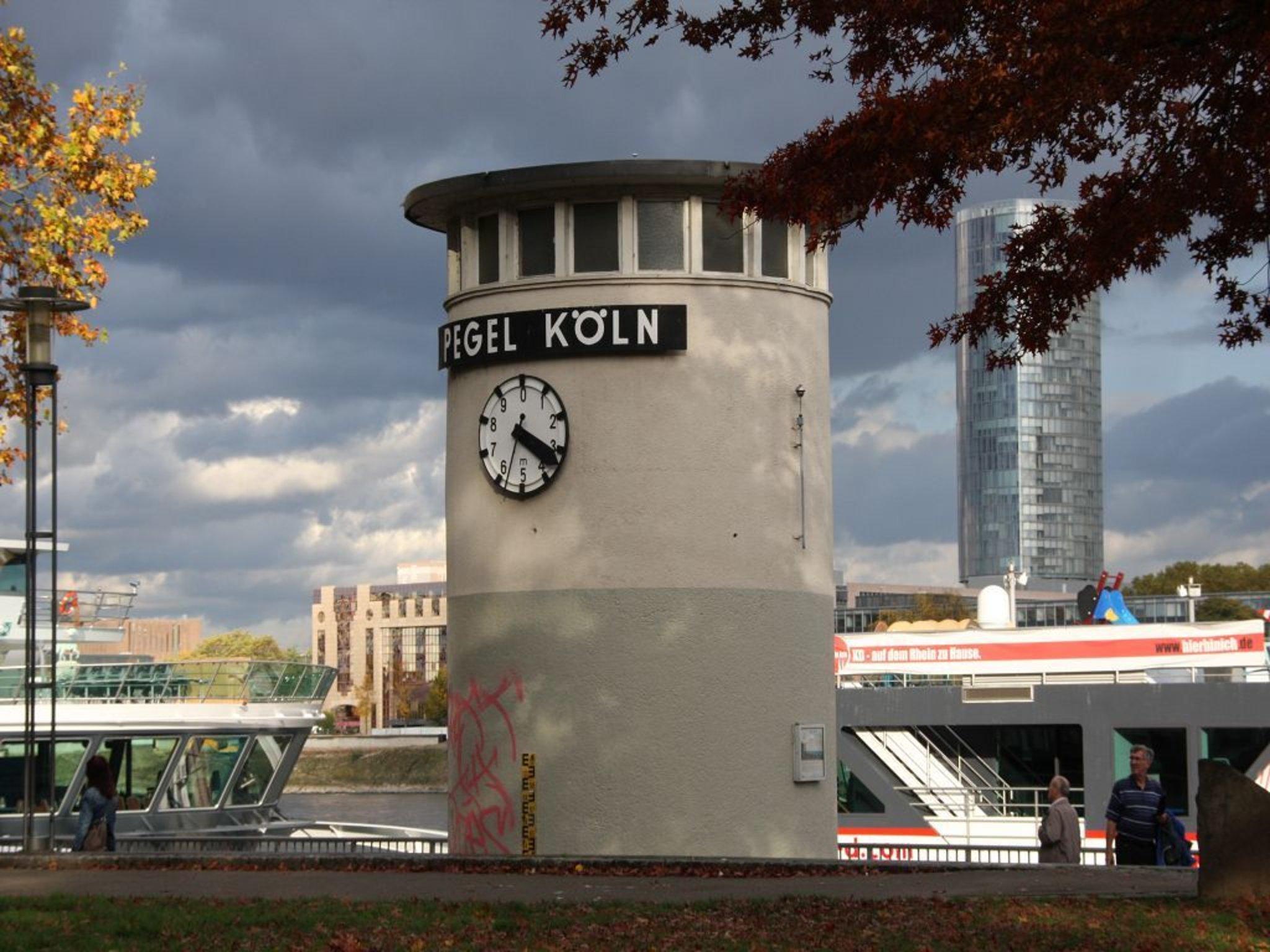 Pegel Rhein Köln