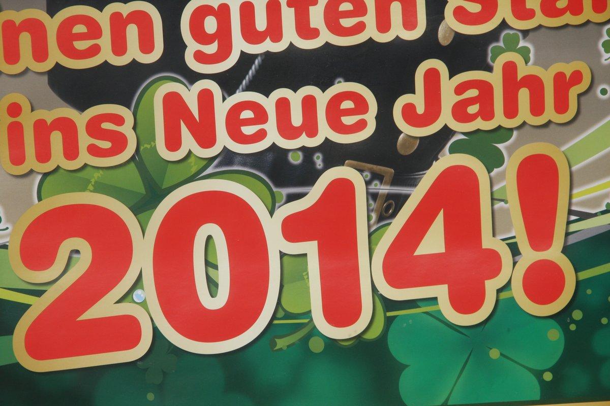Wünsche Euch einen guten Start ins neue Jahr 2014