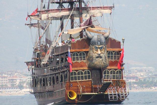 Top Piraten Schiffe in Alanya KA65