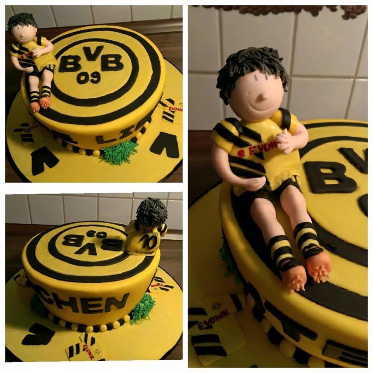 Bvb Torte Deko Keine Essbare Torte