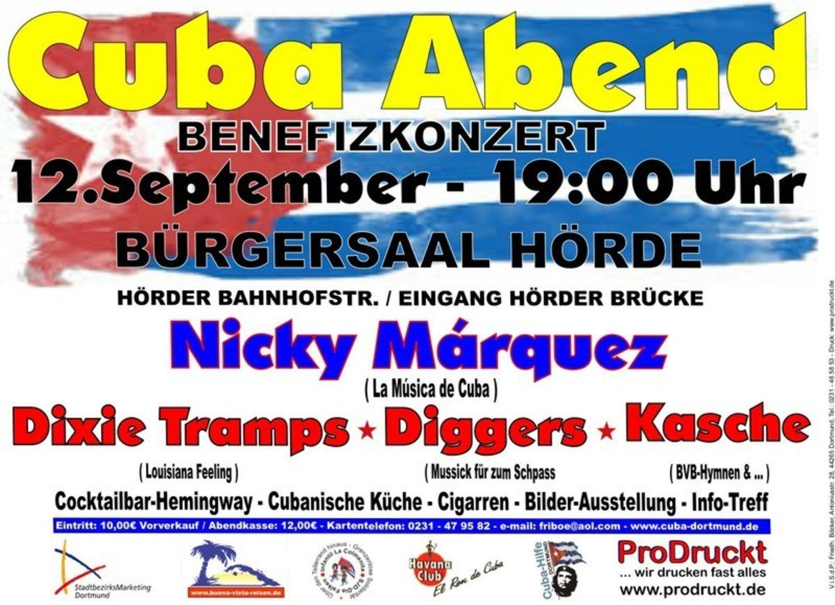 Cuba Abend In Dortmund 12 September 2015 Burgersaal Horde Horder