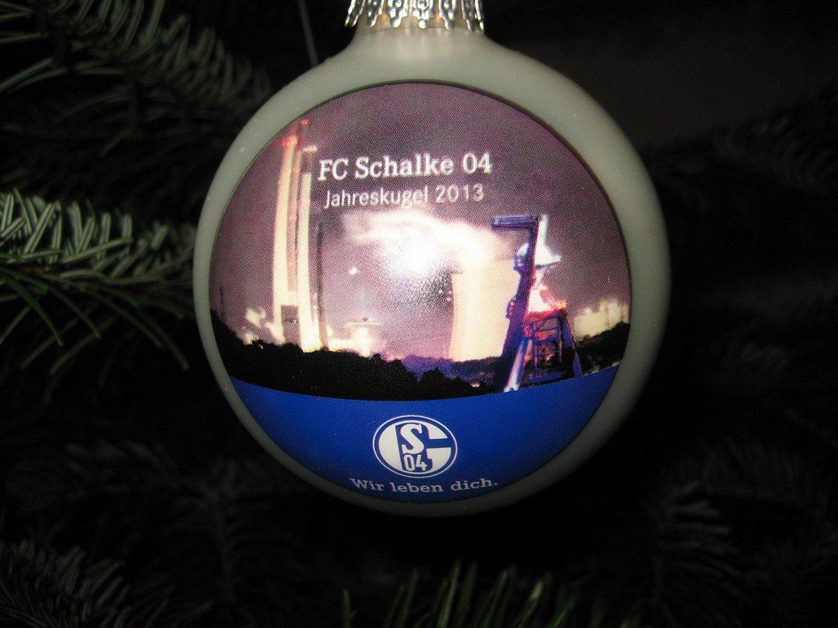 Schalke Bilder Weihnachten.Weihnachten Schalker Jahreskugel 2013