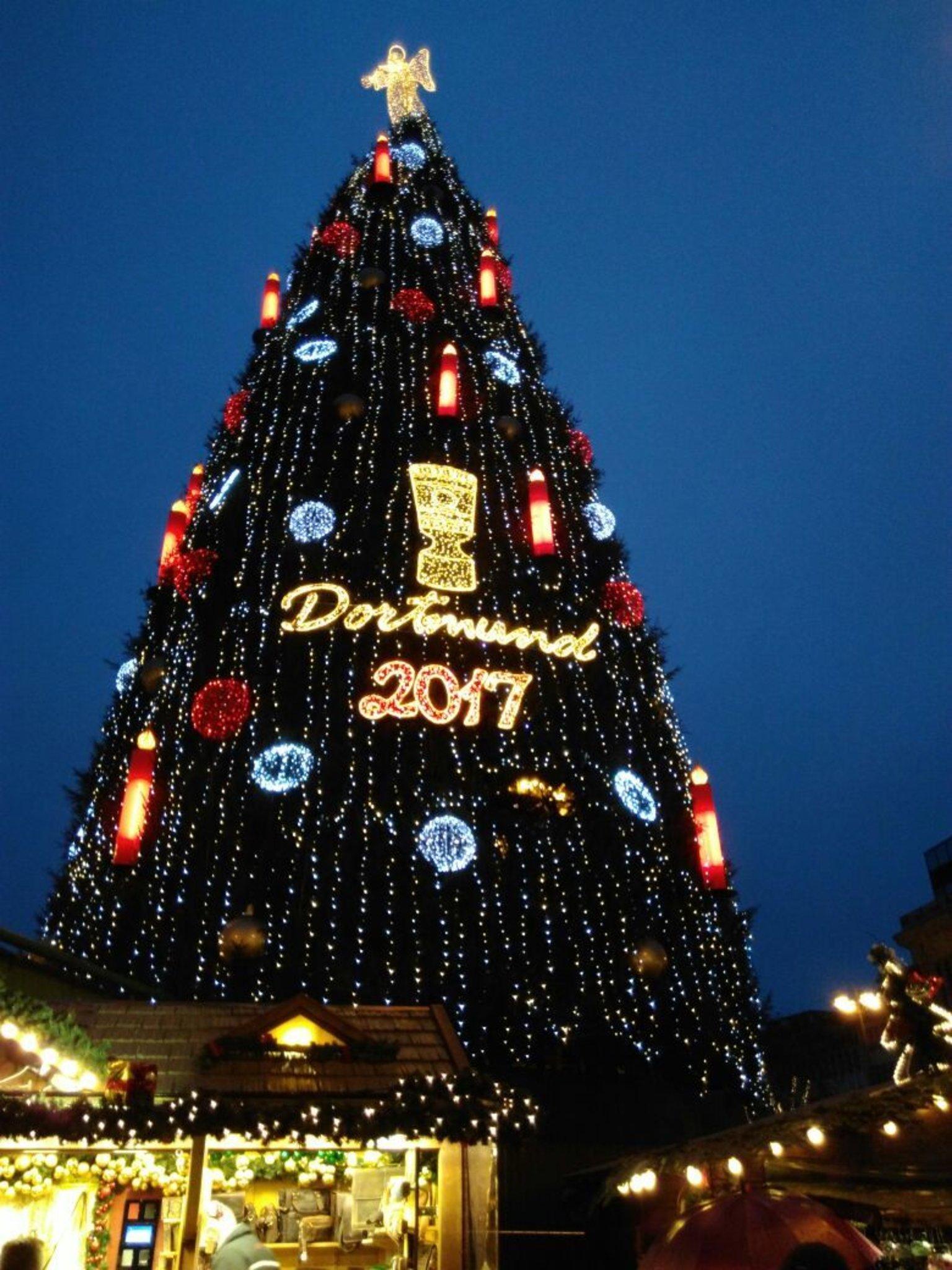 Dortmund Weihnachtsbaum.Weihnachtsbaum Dortmund