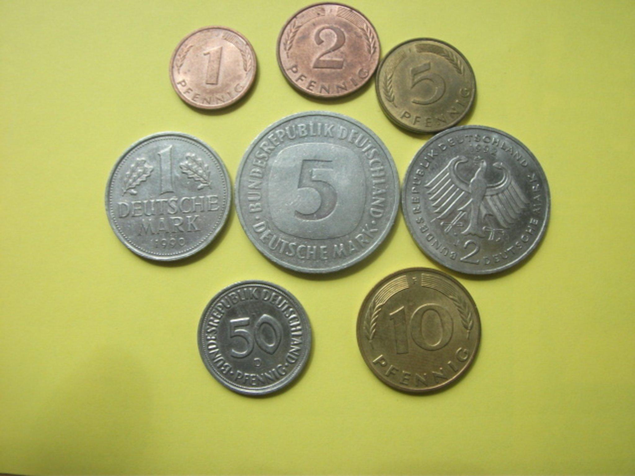 DM Münzen aus Deutschland